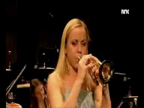 Tine Thing Helseth: Marcello trumpet concerto, 1st mvt.