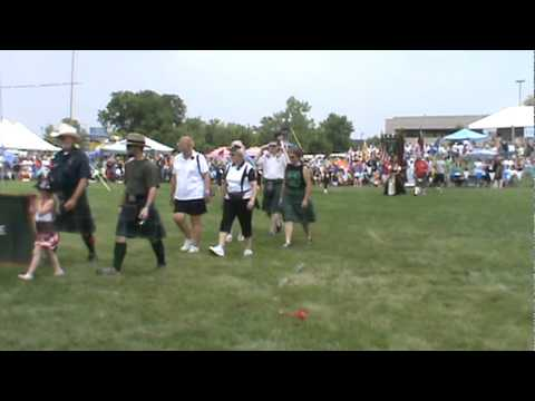 Clans March-ISAS Scottish Festival Itasca IL - 6-18-11