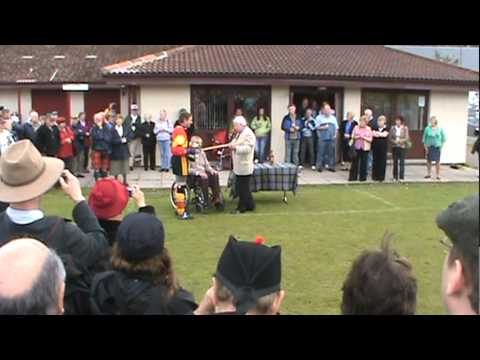 Cameron vs Fraser Shinty Match - Aug 2 2009.