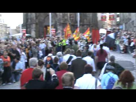 Camerons-March up Royal Mile-Gathering 2009 Edinburgh