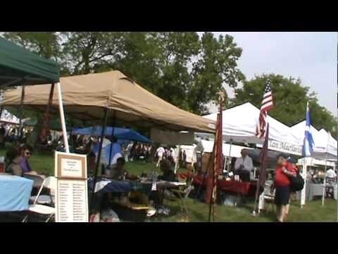 Clan Tents - ISAS Scottish Festival June 18 2011