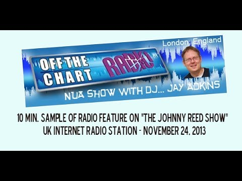 "10 min of the OFF THE CHART RADIO Feature on ""The Johnny Reed Show"" CD"