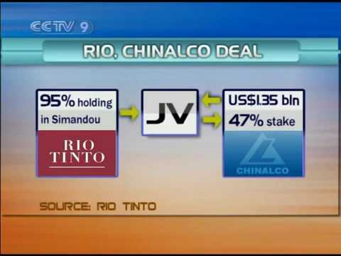 Rio-Chinalco Simandou iron ore deal