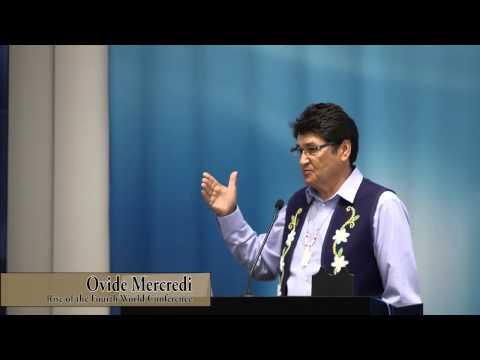 Ovide Mercredi Keynote