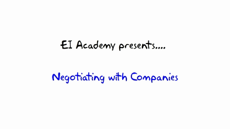 9. Meeting the company --- EI Academy
