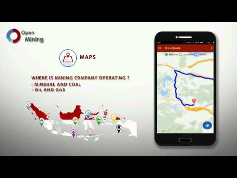 Open Mining Mobile Application: Bridging Extractvie Data and the People