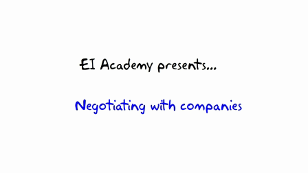 11. What to ask for --- EI Academy