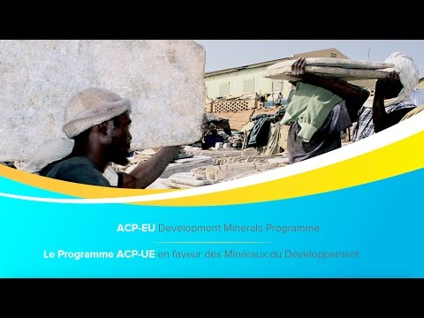 The ACP-EU Development Minerals Programme. Implemented in partnership with UNDP