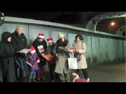 Myddleton Road Community Gardens Group Carol Singing