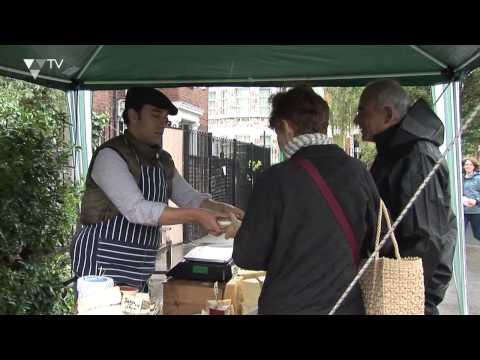 Cash Mob at Harringay Market