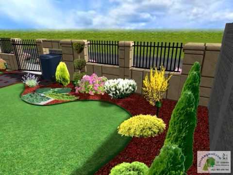 3D návrh záhrady
