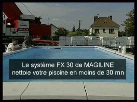 Test performance filtration piscines Magiline