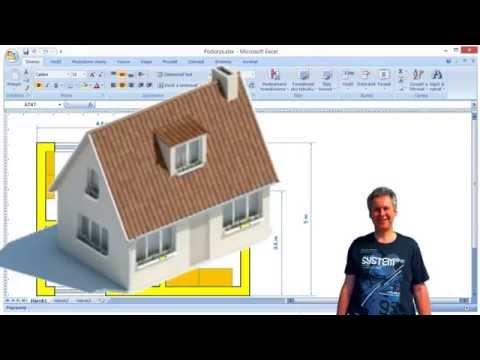 Excel ako CAD program