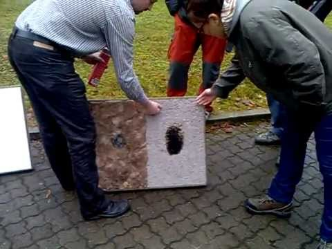 Požární odolnost - celulóza, minerál, polystyren, dřevovlákno.
