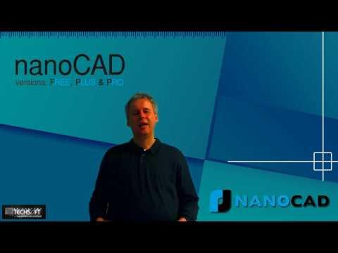 nanoCAD (Free, Plus a Pro) - Úvodný prehľad