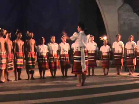 Mt. Province 2010 Festival of the Arts Bontoc Secondary Choir.wmv