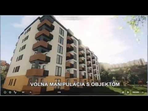 Interaktívna virtuálna prehliadka exteriéru a interiéru bytového domu (VIZUALIZACKY)