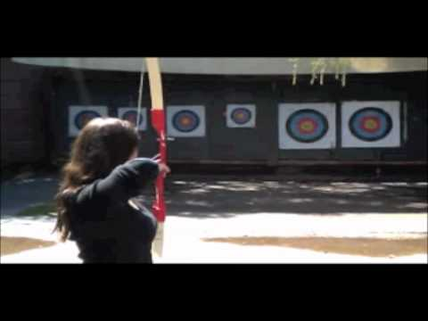 Dayna's Archery Lesson