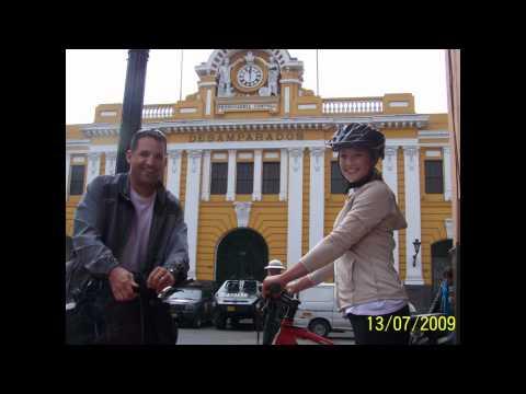 Lima city bike tour by Peru Cycling Tours.wmv