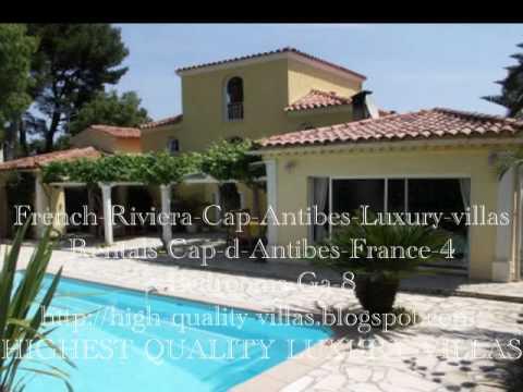Rentals Villa Cap D Antibes Luxury Villa French Riviera