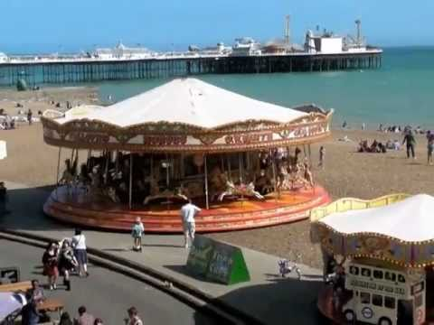 Brighton pier and promenade