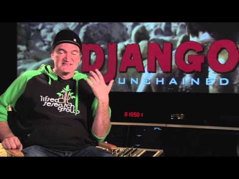 "DJANGO UNCHAINED - ""Quentin Tarantino On Shooting In Wyoming"" [HD] - In Singapore 21 March"