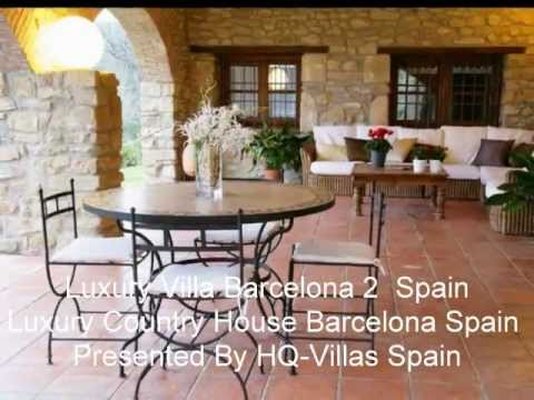Luxury Vacation Rentals Property Spain BARCELONA- House for Sale in Spain 2011