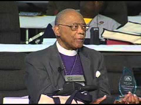 "Bishop James S. Thomas - ""We had to swim and plan and pray and work"""