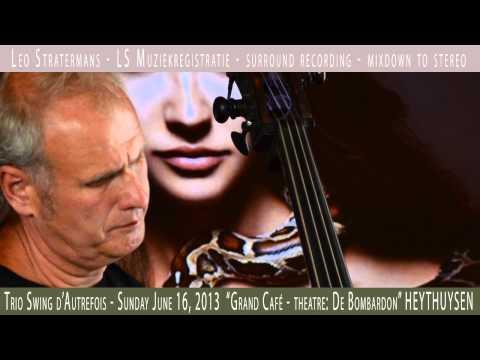 """A tribute to Django Reinhardt"" by Trio Swing d'Autrefois"" ORIENTAL SHUFFLE (1936)"