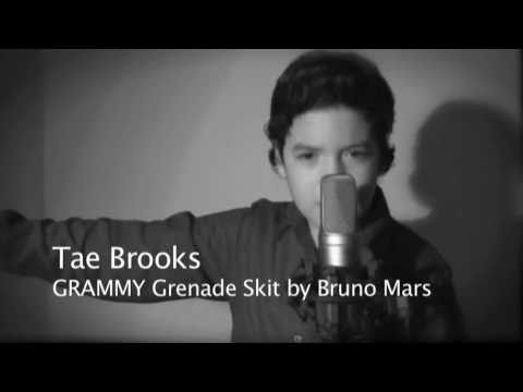 TAE BROOKS covers Bruno Mars Grenade GRAMMY Performance!