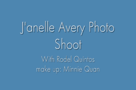 J'anelle Avery Photo shoot