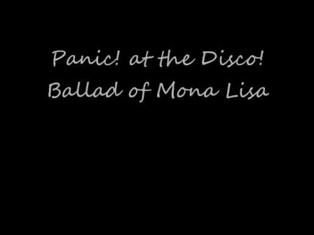 Panic! At the Disco - Ballad of Mona Lisa (Cover)