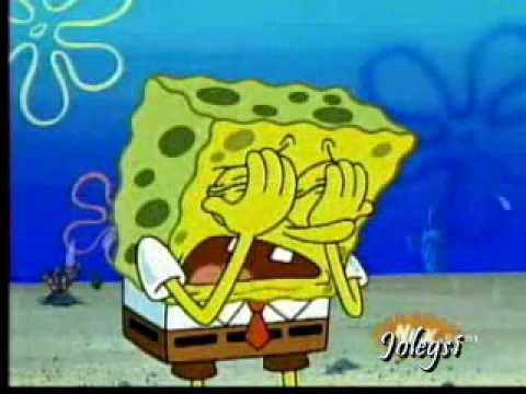 Spongebob sings Not Afraid by Eminem