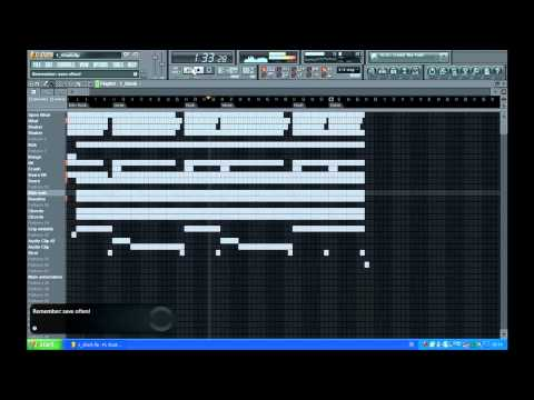 Sexy G Funk Instrumental / Beat ( Fl studio 9 )