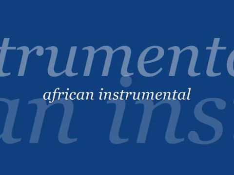african instrumental.WMV