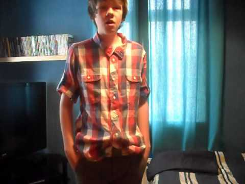 Me singing 'Grenade' By Bruno Mars