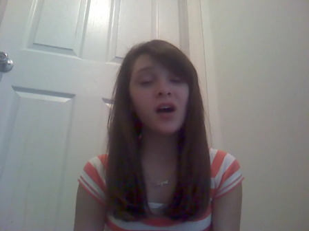 """me singing """"Just the Way You Are"""" by Bruno Mars"""