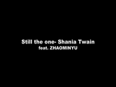 shania twain- still the one cover