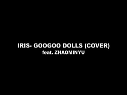 googoodolls- iris cover