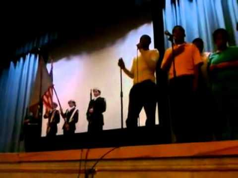 "LeeBruh Greene Sings, ""The Star Spangled Banner"""