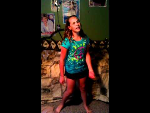 Me singing Victoria Justice-Your The Reason Why