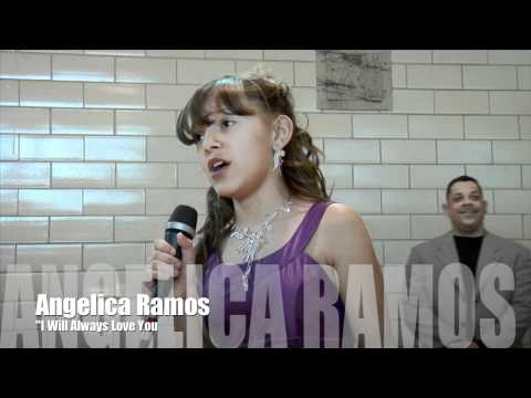 I will always love you' Whitney Houston' cover by Angelica Ramos HD Live