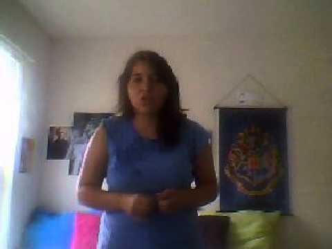 Me singing Vanilla Twillight by Owl City