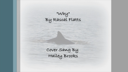 Why by Rascal Flatts (Cover)