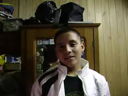 Me singing Y TU TE VAS- Chayanne