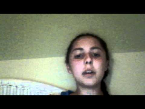me singing im yours by jason mraz but better this time (: sorta :P wear headphones