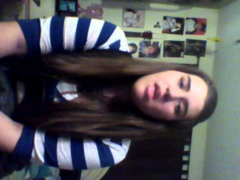 Me singing I Don`t Miss You At All