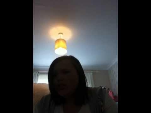 Me singing nobodys perfect