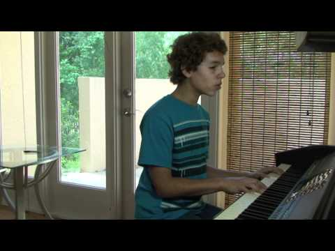 Talking to the Moon - Bruno Mars (cover) by Allan
