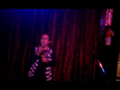 Zoe alexa singing at hamburger marys in kc
